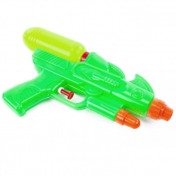 Pištoľ vodná 24 cm 3 farby