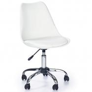 Dětská otočná židle Halmar COCO bílá
