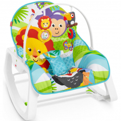 Fisher Price sedátko od bábätka po batoľa zvieratká z džungle