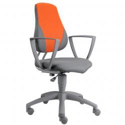 Rosnące krzesełko Alba Fuxo Phoenix szaro-pomarańczowe 81/113