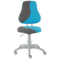 Rosnące krzesełko Alba Fuxo S Line Melino niebiesko-szare 319
