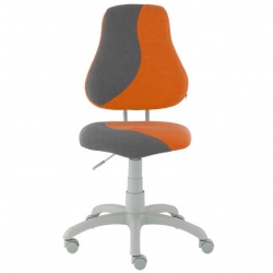 Rosnące krzesełko Alba Fuxo S Line Melino pomarańczowo-szare