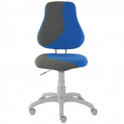 Rostoucí židle Fuxo S Line Suedine modro-šedá 243