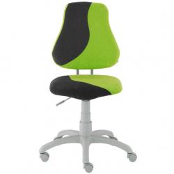 Rostoucí židle Fuxo S Line Suedine zeleno-černá 328