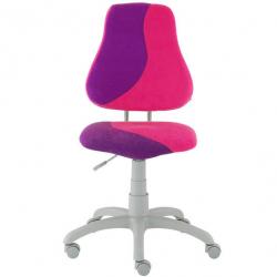 Rostoucí židle Fuxo S Line Suedine růžovo-fialová 268