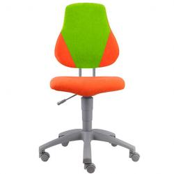 Rosnące krzesełko Alba Fuxo V-line pomarańczowo- zielone 459