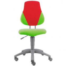 Rosnące krzesełko Alba Fuxo V-line zielono-czerwone 1173