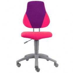 Rosnące krzesełko Alba Fuxo V-line różowo-fioletowe 343