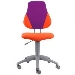Rosnące krzesełko Alba Fuxo V-line pomarańczowo-fioletowe