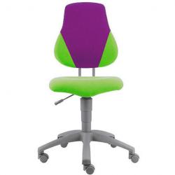 Rosnące krzesełko Alba Fuxo V-line zielono-fioletowe 614
