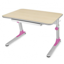 Rastúci stôl Junior ružový