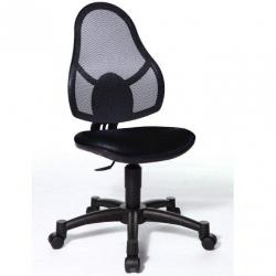 Rostoucí židle Open Art Junior černá