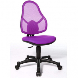 Rostoucí židle Open Art Junior fialová
