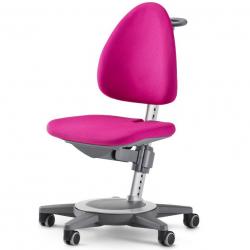 Rostoucí židle MAXIMO Pink-šedý rám