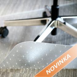 Podložka pod židli s hroty na koberce s nízkým vlasem 100 x 120 cm