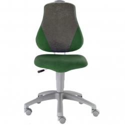Rosnące krzesełko Alba Fuxo Suedine ciemnozielono-szare 004