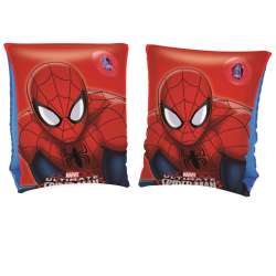 Rukávky Spiderman nafukovacie 23x15cm 3-6let v krabičke