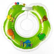 Plávacie nákrčník Flipper / Kruh zelený v krabici
