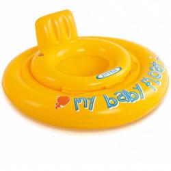 Nafukovacie plavátko žlté, okrúhle, 70 cm