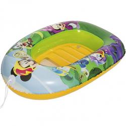 Člun nafukovací Mickey Mouse 102x69cm s průzorem 3-6let v krabičce