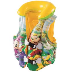 Vesta nafukovacie Mickey Mouse 51x46cm 3-6let v krabičke
