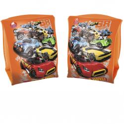 Rukávky nafukovacie Hot Wheels 23x15cm 2komory 3-6let v krabičke