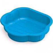 Pieskovisko plastová mušľa modrá