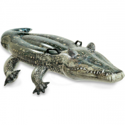 Nafukovacie sedátko aligátor