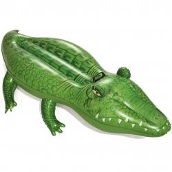 Nafukovací krokodíl s držadlom, 168 x 89 cm