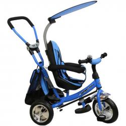 Dětská tříkolka Baby Mix Safari blue