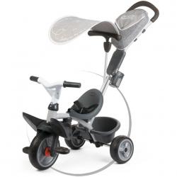 Trojkolka Baby Driver Comfort šedá, strieška