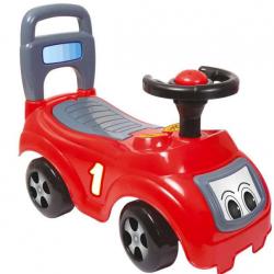 Odrážadlo auto červené s operadlom