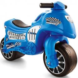 Odrážadlo motorka modrá