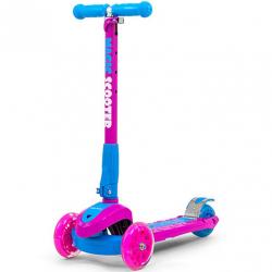Detská kolobežka Milly Mally Magic Scooter pink-blue