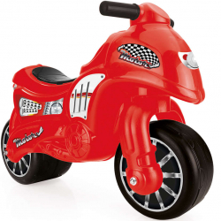 Odrážadlo motorka červená