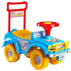TEDDIES Jeździk Jeep Yupee niebieski