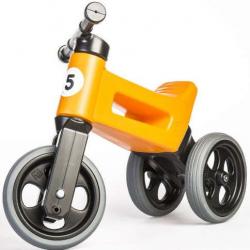Rowerek biegowy dla dzieci FUNNY WHEELS Rider Sport 2w1, Bright Orange