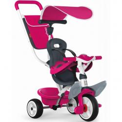 Trojkolka Baby Balade 2 ružová, strieška a taška