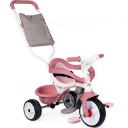 Smoby - Rowerek trójkołowy Be Move Komfort Różowy
