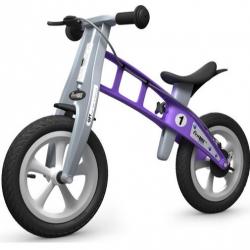 First Bike STREET Violet s brzdou
