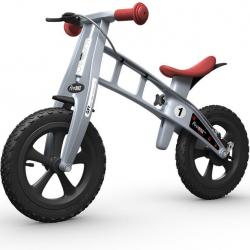 First Bike CROSS Silver s brzdou