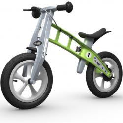 First Bike STREET Green s brzdou