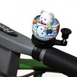 First Bike zvonček medvídek