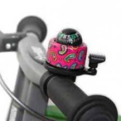 First Bike zvonček růžový kompas