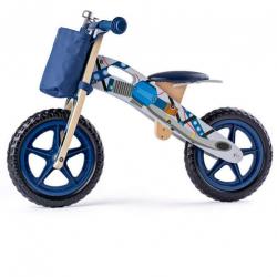 Jeździk-motocykl, niebieski