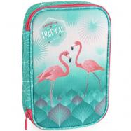 Piórnik szkolny Flamingo