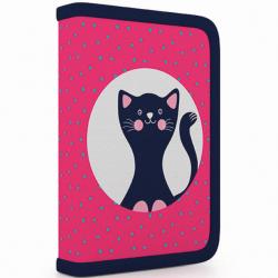 Peračník 1 p. s chlopňou, naplnený mačka 3-04418
