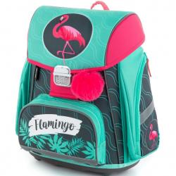 Školní batoh PREMIUM Plameňák
