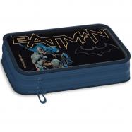 Piórnik szkolny Batman dwupoziomowy