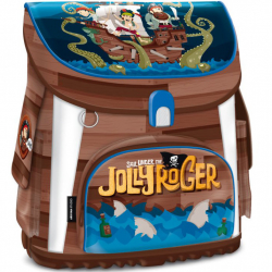 Tornister Pirat Jolly Roger magnetic